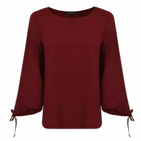 French Connection Blouse - Rosso Red