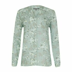 Floral Button Through Blouse
