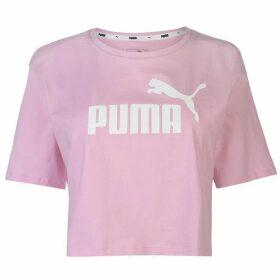 Puma Puma Essential Logo Crop T Shirt - Pale Pink 21
