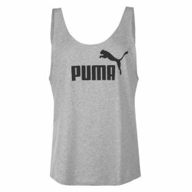 Puma Puma Essential Logo Tank Top - Lt Grey Hthr 04