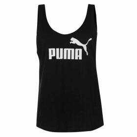 Puma Puma Essential Logo Tank Top - Black 01