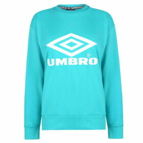 Umbro Umbro Womens Logo Crew Sweater