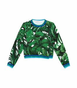 Palm Leaf Sweatshirt