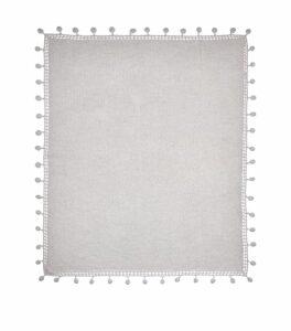 Crochet Trim Shawl