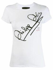 Philipp Plein logo T-shirt - White