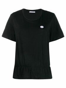 Société Anonyme frill hem top - Black