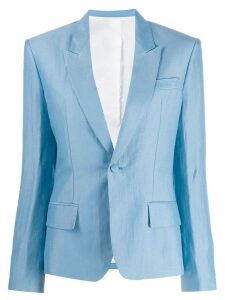 Haider Ackermann tailored single-breasted blazer - Blue