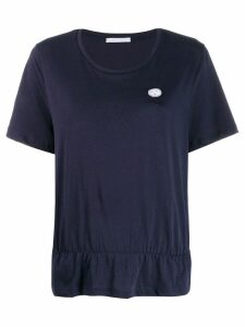 Société Anonyme ruffled hem T-shirt - Blue