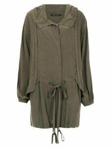 Andrea Marques pockets cape - Green