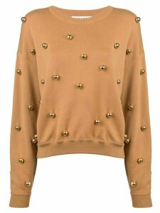 Alice+Olivia Gleeson jumper - Brown