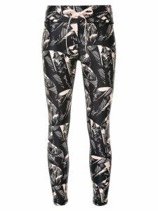 The Upside printed leggings - Black