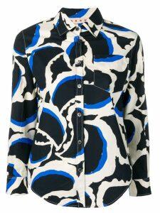 Marni printed shirt - Black