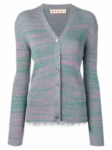 Marni patterned cardigan - Green