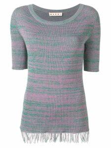 Marni fringed sweater - Pink