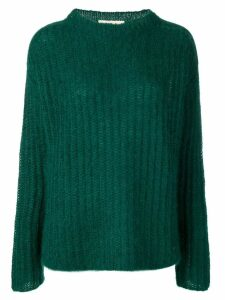 Marni fine knit sweater - Green