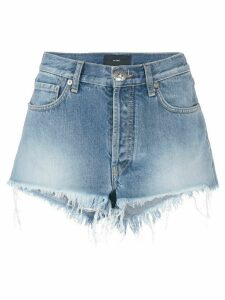 Alanui denim shorts - Blue