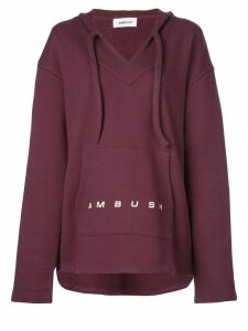 AMBUSH oversized hoodie - Red
