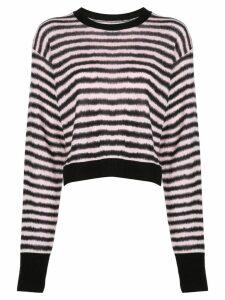 RtA striped jumper - Black