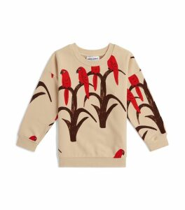 Parrot Print Sweater