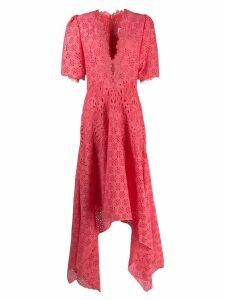 Costarellos macrame dress - PINK