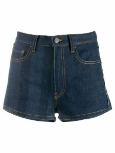 Marcelo Burlon County Of Milan denim shorts - Blue