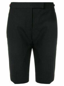 Thom Browne Grosgrain Tipping Skinny Short - Black