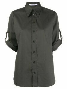 Givenchy short sleeved military shirt - Green