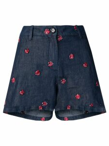 Love Moschino ladybird shorts - Blue