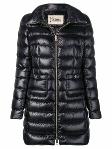 Herno mid-length puffer jacket - Black