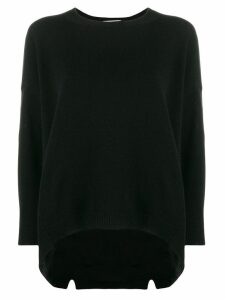 Valentino oversized cashmere knit jumper - Black