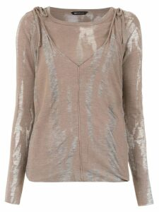 Uma Raquel Davidowicz Alice blouse - Brown