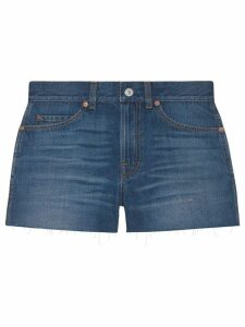 Gucci mini denim shorts - Blue