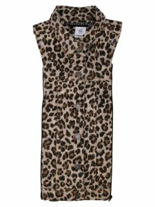 Veronica Beard animal print shirt top - Brown