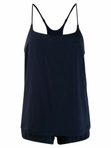 La Perla vest and shorts pyjama set - Blue