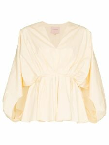 Roksanda Aniya poplin top - Yellow