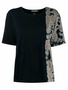 Suzusan tie-dye T-shirt - Black