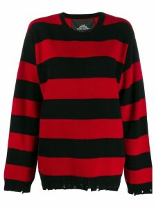 Marc Jacobs oversized striped jumper - Red