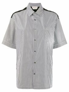 Alexander McQueen striped shirt - Black