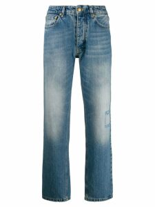 Victoria Victoria Beckham high waisted tapered jeans - Blue