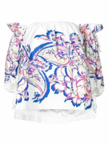 Prabal Gurung off-the-shoulder blouse - White