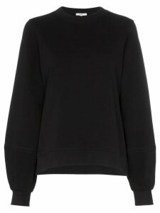 GANNI balloon sleeve sweatshirt - Black