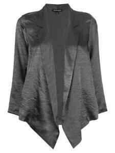 Ann Demeulemeester wrap cardigan - Grey