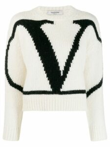 Valentino VLOGO sweater - White