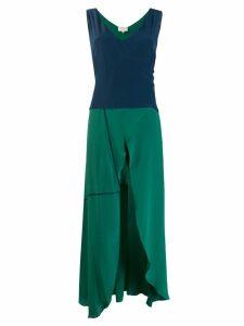Zeus+Dione Erato wrap dress - Green