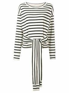 Sonia Rykiel tie waist blouse - NEUTRALS