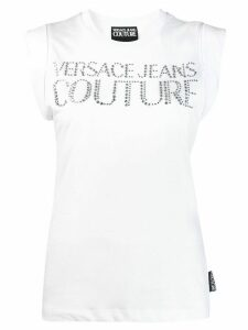 Versace Jeans Couture studded logo T-shirt - White