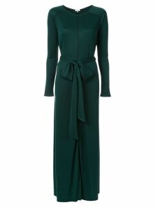 Layeur tie waist dress - Green