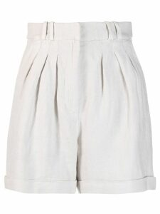 Iro pleated shorts - Neutrals