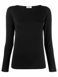 Brunello Cucinelli round neck jumper - Black