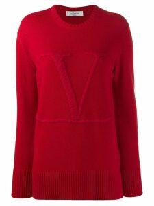 Valentino Vlogo sweater - Red